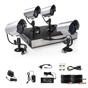 Zmodo 8 Channel D1 DVR Security Camera System