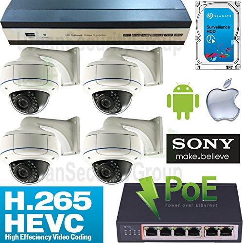 USG 4K H.265 IP PoE CCTV System + 4 Cameras & 3TB HDD Review