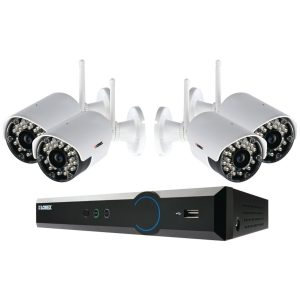 lorex lh024501c4wb CCTB system DVR home security