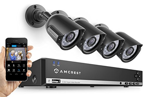 Amcrest 960H X 4 CCTV Security System Review