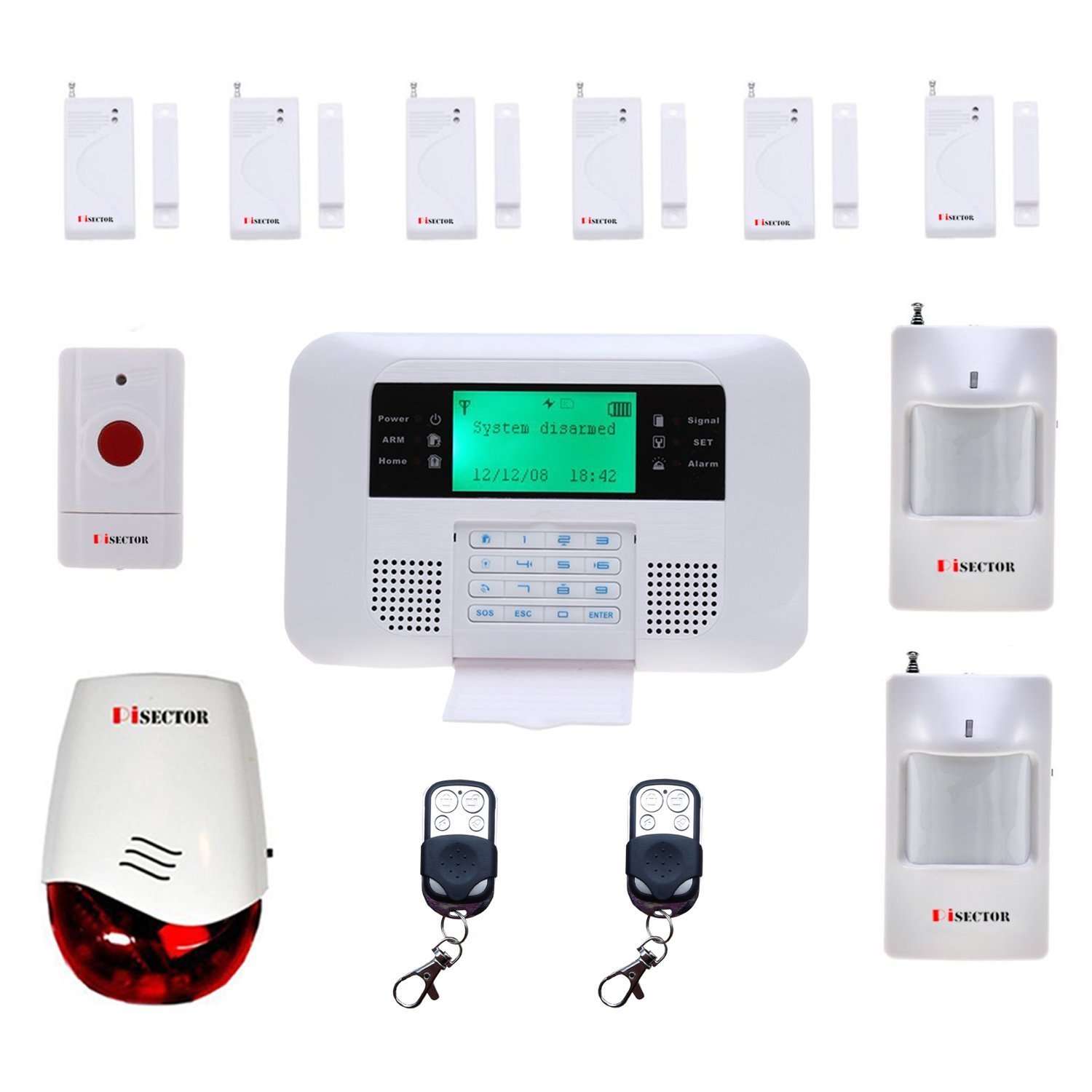 Home Security System Monitoring Without Landline